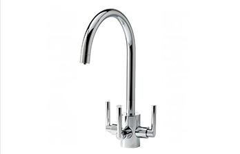 APL Aquamatic Cirrus Chrome 3-way tap