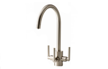 APL Aquamatic Cirrus Nickel 3-way tap