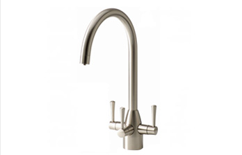 APL Aquamatic Stratus Nickel 3-way tap