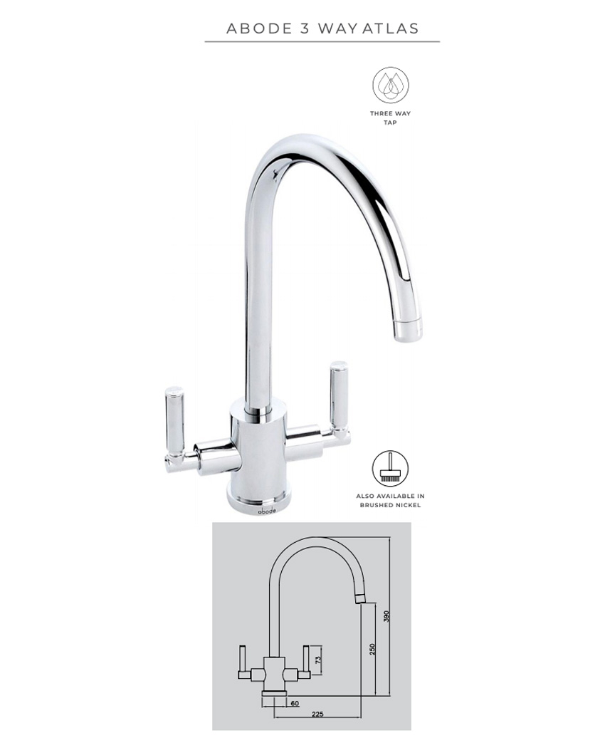 Abode Atlas 3-way tap