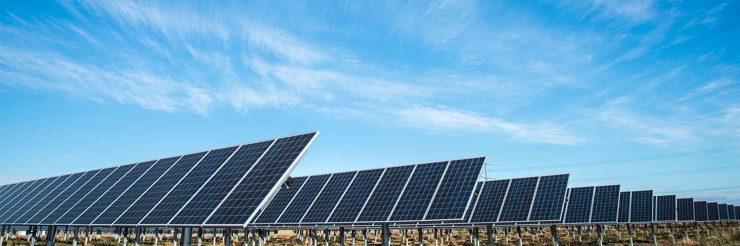 Solar panels used to produce clean drinking water